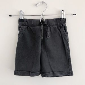 Jumping Beans Gray French Terry Shorts 24 months